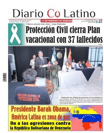 Edición 07 de Abril de 2015
