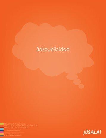 3d/publicidad ¡ÚSALA!