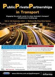 in Transport - Informa Australia