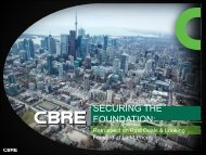 SECURING THE FOUNDATION: - Real Estate Forums