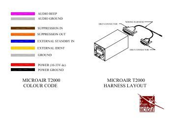 peltor mt7h79a 61a wiring information wiring colour code for