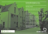 Sustainable Designs on You Housing for Health and Value