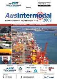 Australia's definitive freight transport event - Informa Australia