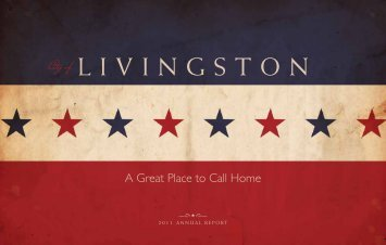 2011 Annual Report - City of Livingston