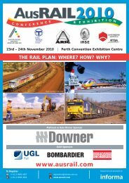 AusRAIL 2010 P10M01WEBPDF.pdf - Informa Australia