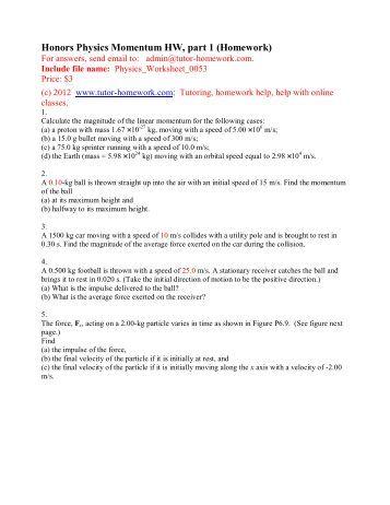 Webassign homework
