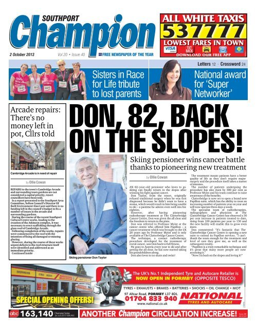 southport Champion Newspapers