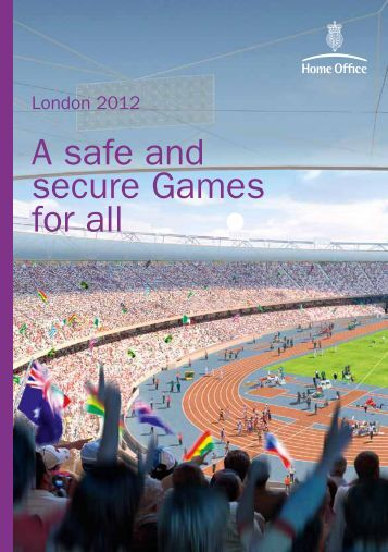 London 2012 - A safe and secure Games for all - Dorset Police