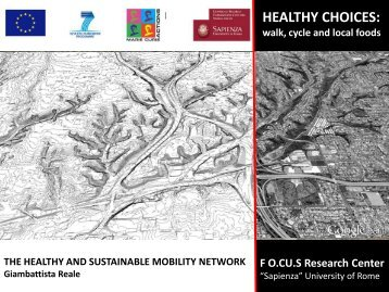 The Healthy and Sustainable Mobility Network - CLUDs