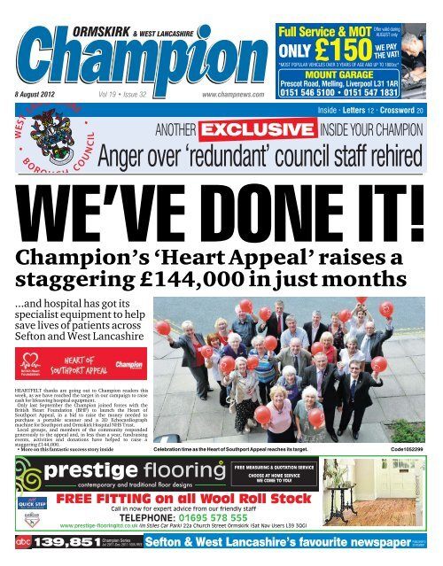 Anger over 'redundant' council staff rehired - Champion