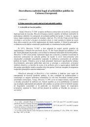 2. Achizitiile de lucrari publice(Click pentru a citii ... - Achizitii publice