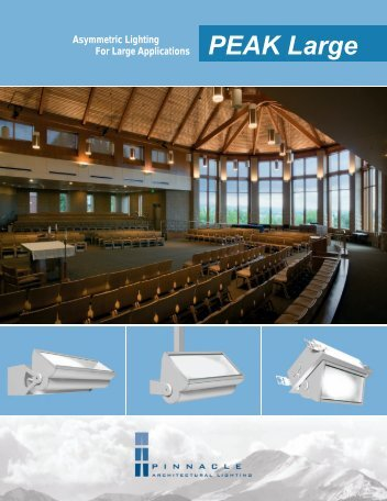 PEAK Large - Pinnacle Architectural Lighting