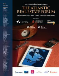 13-009 (Atlantic REF Brochure)3.indd - Real Estate Forums