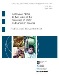 Explanatory Notes on Key Topics in the Regulation of Water ... - BNPP