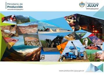 Programas  Productivos 2013/14 - Provincia de Jujuy