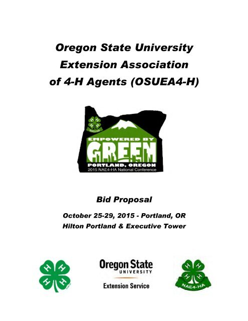 Sample Cover Letter for a Mailed Survey - Oregon State 4-H ...