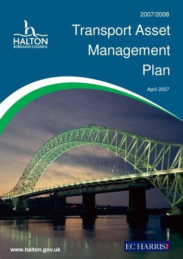 Transport Asset Management Plan - Halton Borough Council