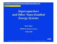Supplemental Materials - MITRE Corporation
