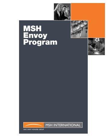 MSH Envoy Program - MSH International