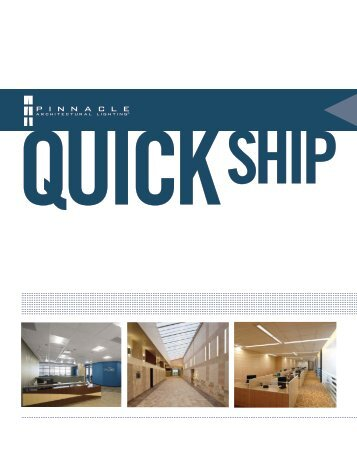 QUICKSHIP - Pinnacle Architectural Lighting