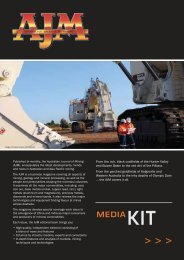 kit media - The Australian Journal of Mining