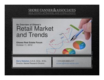Retail Market and Trends - Real Estate Forums