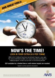 NOW'S THE TIME! - AWB Limited
