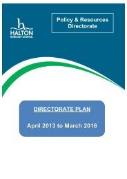 April 2013 to March 2016 - Meetings, agendas and minutes - Halton ...