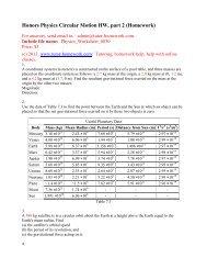 Webassign Physics Questions and Answers - Tutor-Homework com