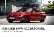 Genuine BMW Accessories Range Overview.