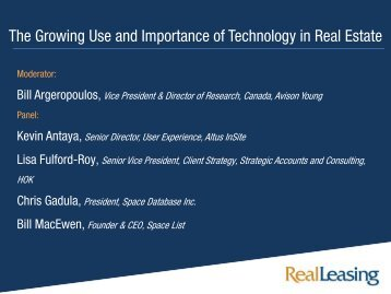 The Growing Use and Importance of Technology in Real Estate - Real ...
