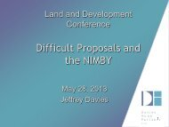 Difficult Proposals and the NIMBY - Real Estate Forums