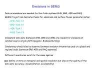 sea salt: Gong et al. (1997) - GEMS