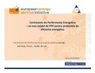 Contractele de Performanta Energetica – un nou ... - Achizitii publice