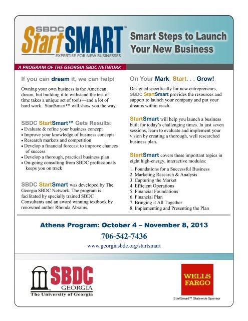 Athens - Georgia Small Business Development Center