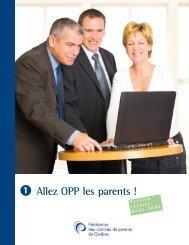 Allez OPP les parents - Fédération des comités de parents du Québec