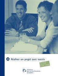 Réaliser un projet avec succès - Fédération des comités de parents ...