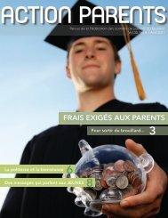 Avril 2011 - Fédération des comités de parents du Québec