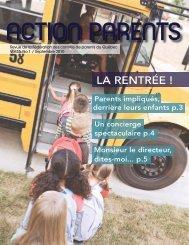 Septembre 2010, Vol. 35, no.1 - Fédération des comités de parents ...