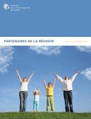 Rapport annuel 2009-2010 - Fédération des comités de parents du ...