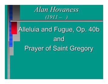 Alan Hovaness