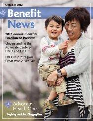 Advocate Centered EPO - Advocate Benefits