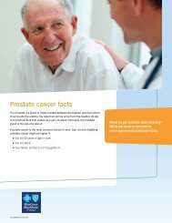 Prostate cancer facts - Time Well Spent - BCBSGa