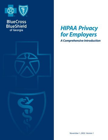 HIPAA Privacy for Employers - A Comprehensive Introducton