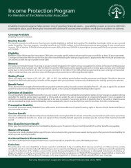 Disability Income Brochure - Beale Professional Services