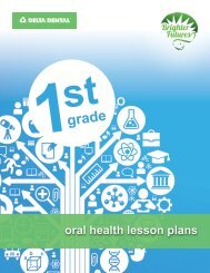1st Grade Classroom Lesson Plans - Delta Dental Indiana