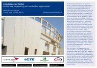 Cross Laminated Timber: architectural, engineering and ... - Sust.