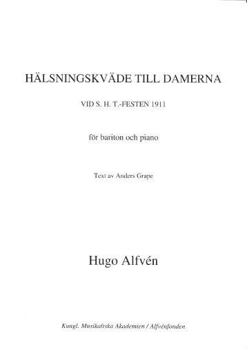 Hugo Alfvln