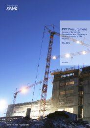 PPP Procurement: Review of barriers to compeition [PDF ... - KPMG
