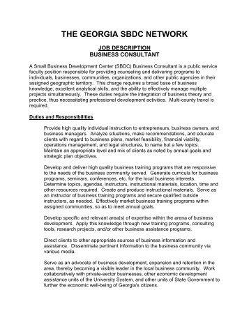 Senior Business Development Sales Representative Job Description
